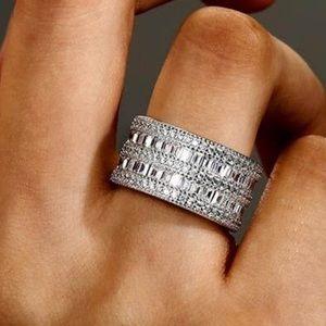 Italo Jewelry - Italo Art Deco Wedding Band (4.22 CT. TW.)